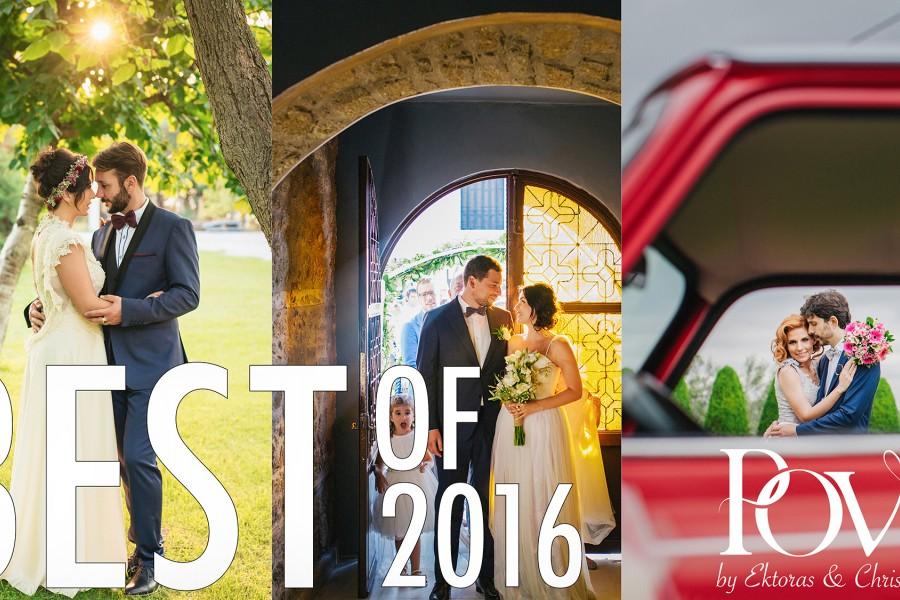 Οι Καλύτερες φωτογραφίες γάμου από το 2016 by POVstudio