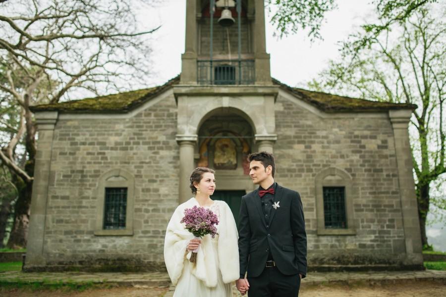 Φωτογραφίες γάμου στο Μέτσοβό