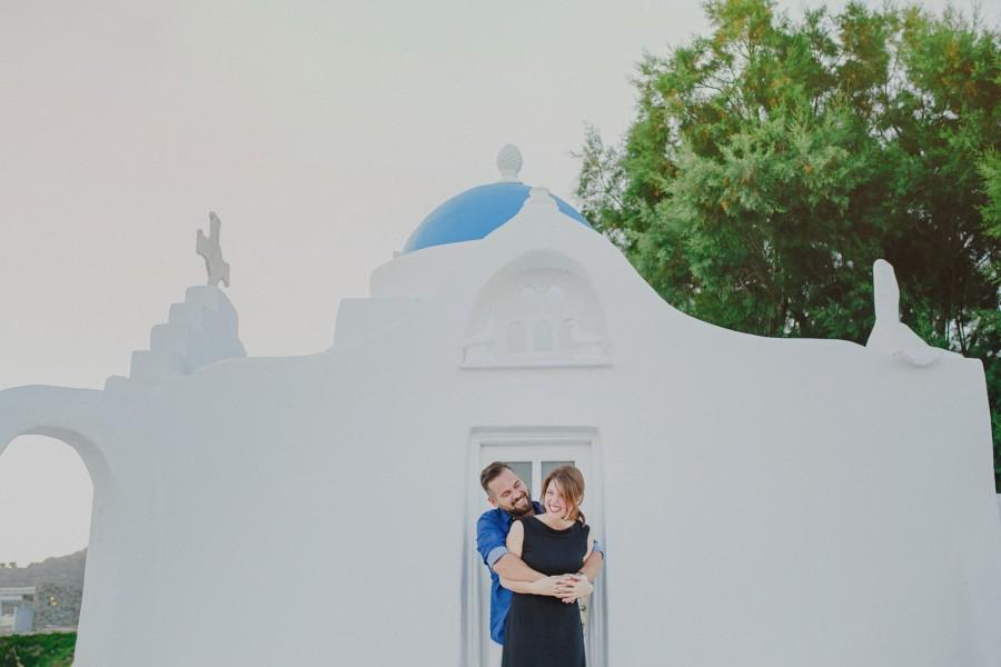Φωτογράφιση στην Μύκονο Alex & Ντίνα