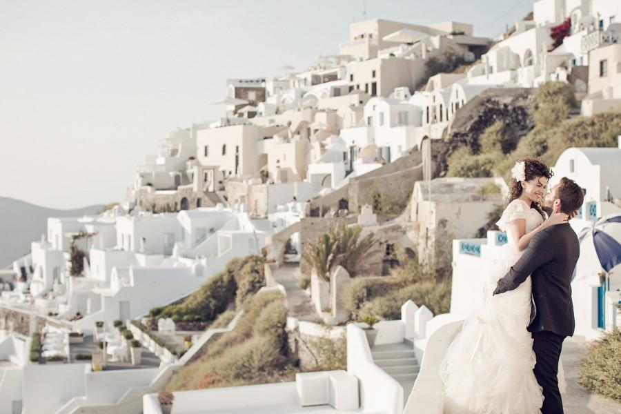 Φωτογράφιση γάμου στην Σαντορίνη - Δημήτρης & Στέλλα