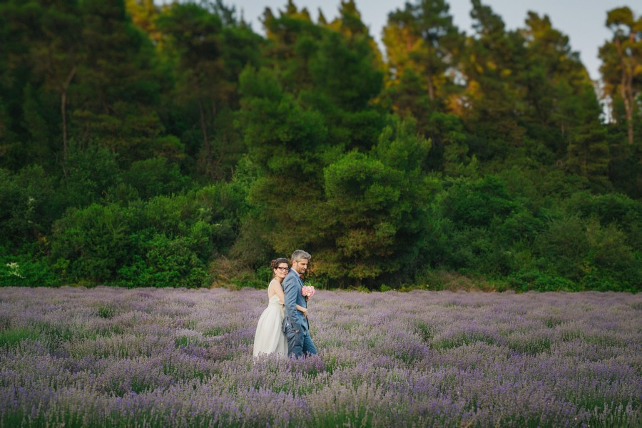Φωτογραφίες πολίτικου γάμου στην Χαλκιδική