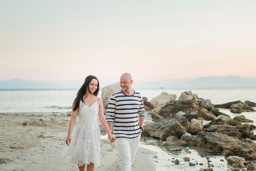 Φωτογράφιση e-session - pre wedding Κώστας & Δώρα