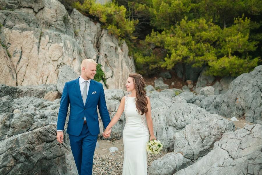 Φωτογραφία γάμου  στo Beach Bar DEL MARE στην Χαλκιδική