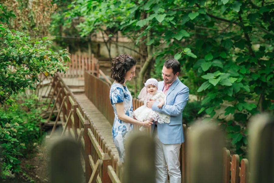 Φωτογραφίες Βάπτισης της μικρής Κατερίνας στο Πανόραμα