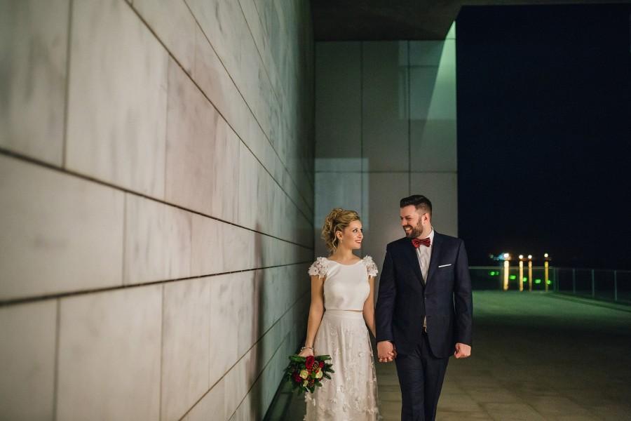Φωτογραφίες γάμου στo Allegro Μέγαρο Μουσικής
