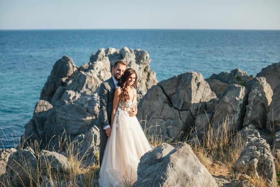Φωτογραφίες γάμου στο Blue Carpet στη Χαλκιδική