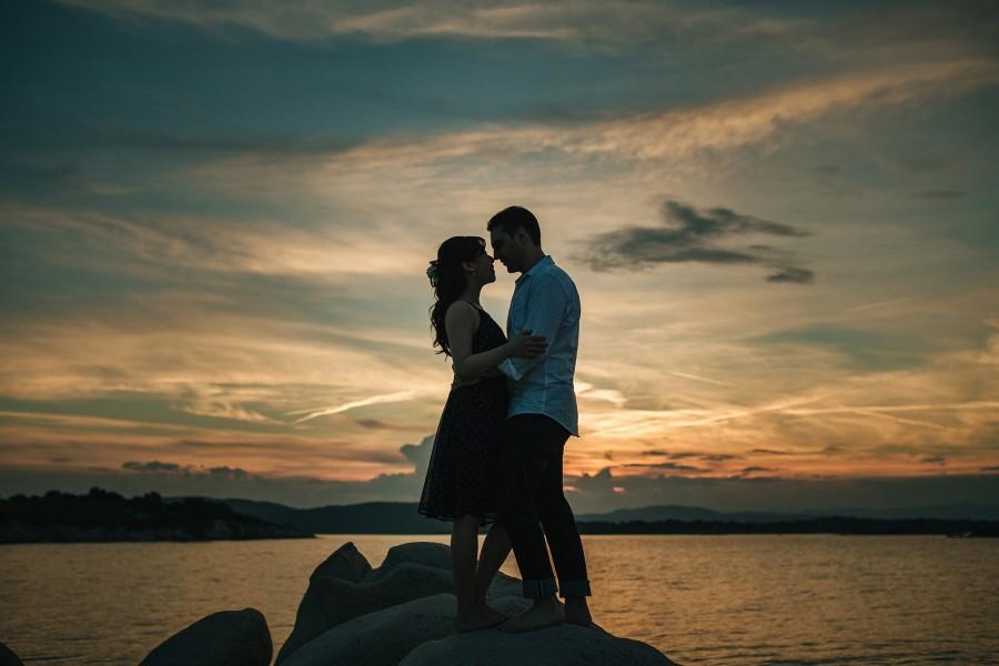 Φωτογραφίες Pre Wedding στην Χαλκιδική