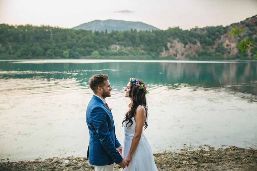 Φωτογράφιση γάμου στη Λίμνη Ζηρού Πρέβεζας