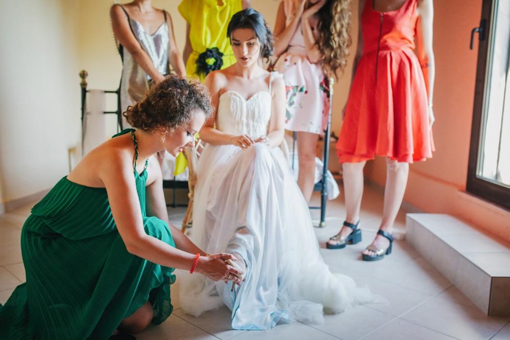 Μια καλοκαιρινή φωτογράφιση γάμου στο Pohonda beach bar Χαλκιδικής