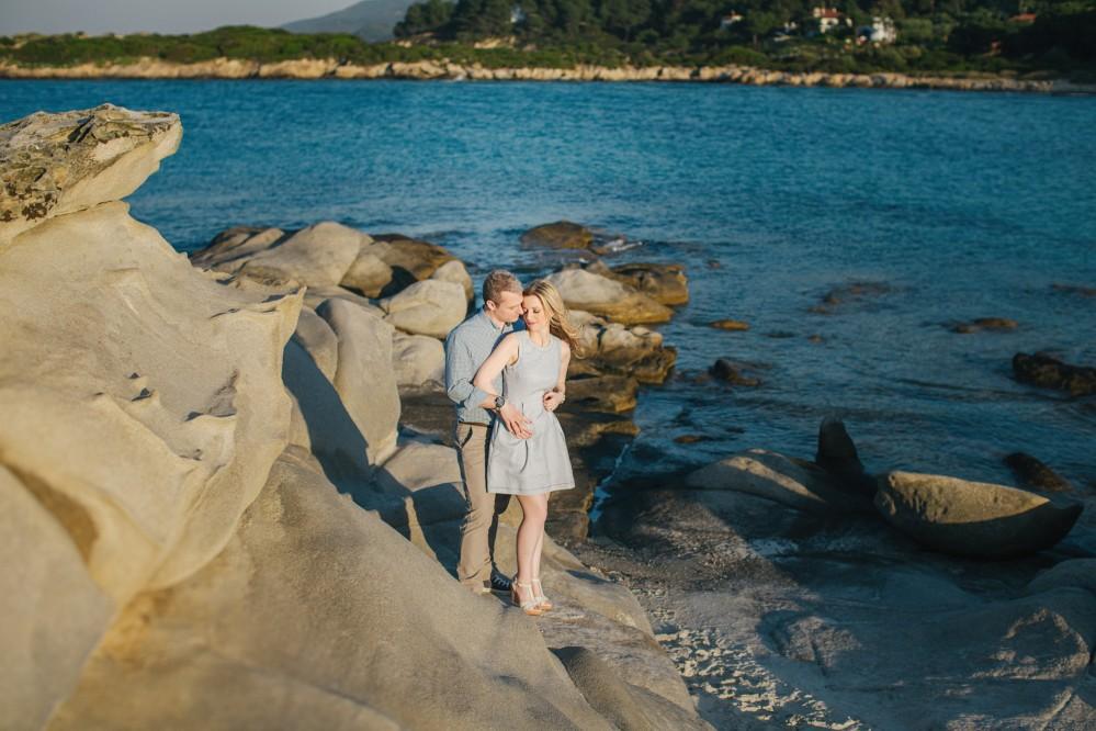 Φωτογράφιση pre-wedding στην Χαλκιδική-Φωτογραφίες ευχολογίου γάμου