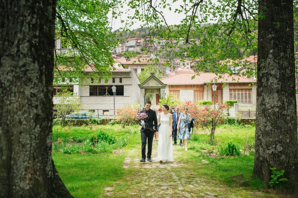 Φωτογραφίση γάμου στο Μέτσοβο - Μαρία & Παύλος