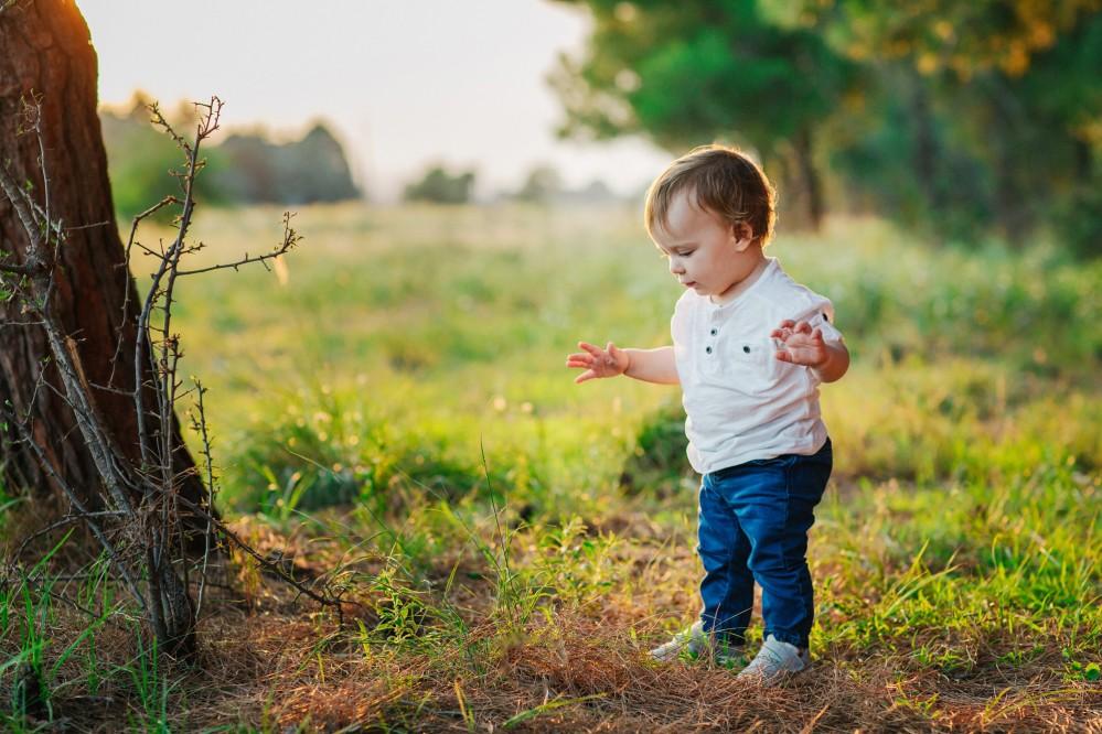 Οικογενειακή Φωτογράφιση με τον Αναστάσιο στο δάσος