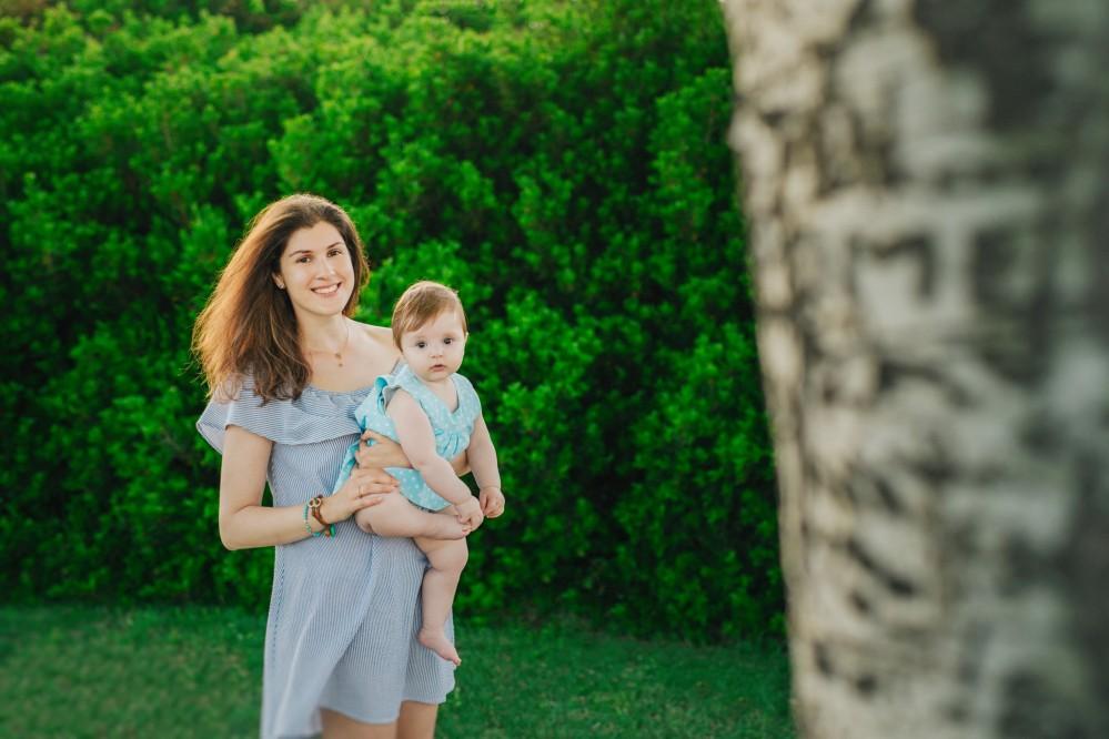 Οικογενειακή Φωτογράφιση στο Sani resort με την Πηνελόπη