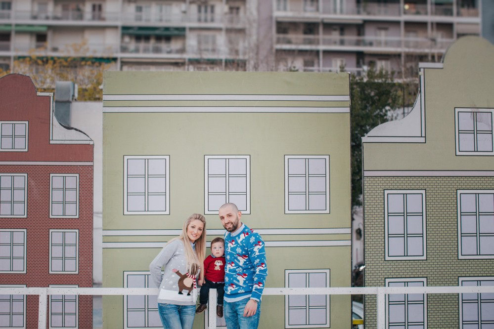 Οικογενειακή Φωτογράφιση με τον Σταύρο στην Θεσσαλονίκη