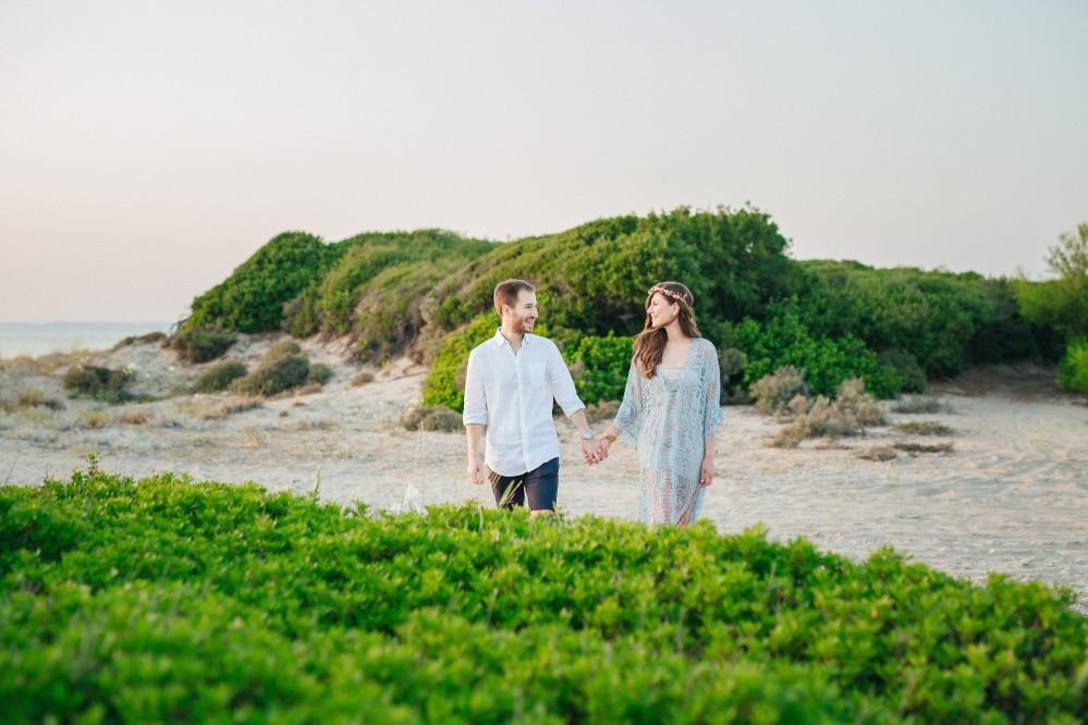 Φωτογράφιση προ γάμου στο Ποσείδη Χαλκιδικής - Πόλις & Κατερίνα