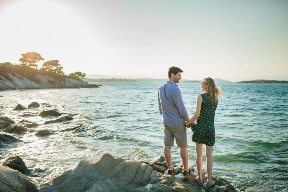Φωτογραφίες πριν το γάμο στη Χαλκιδική | Αστέρης & Ιζαμπέλα Φωτογράφηση