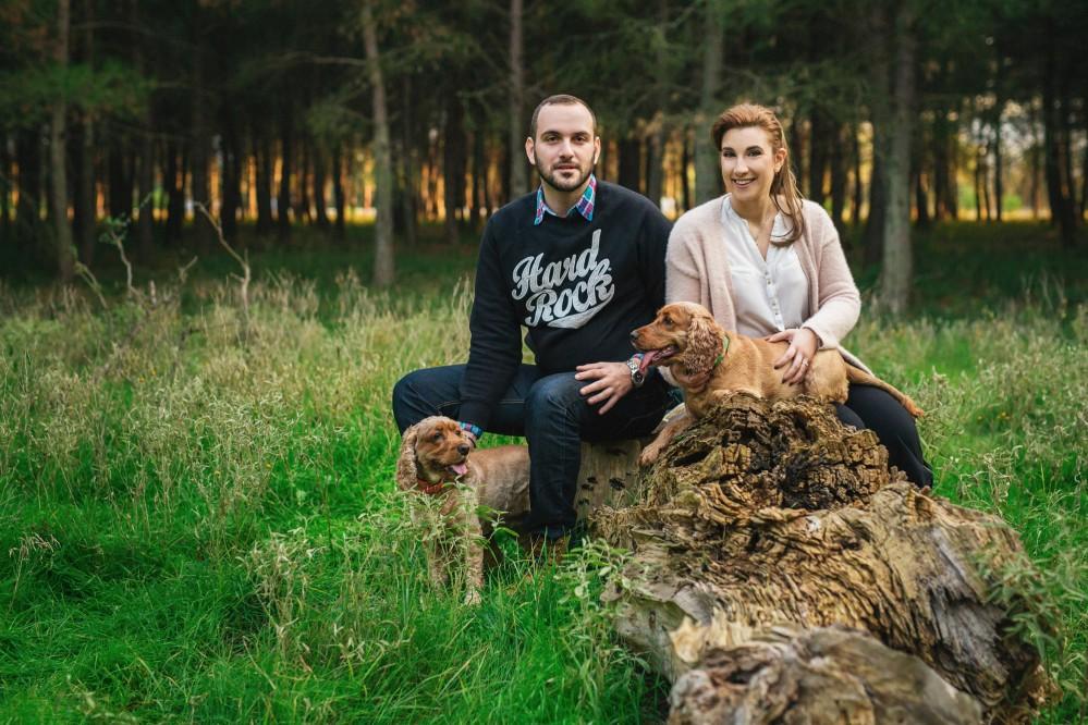 Φωτογράφηση πριν το γάμο στο δάσος | Βαγγέλης & Νάσια