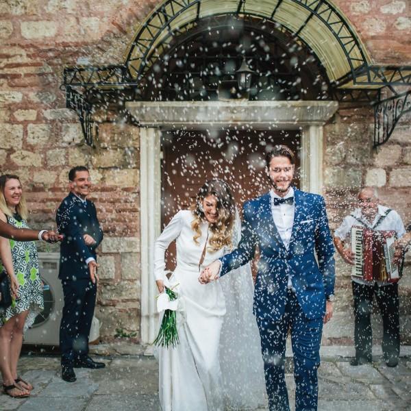 Φωτογραφίες γάμου - Mary & Oscar στη Θεσσαλονίκη