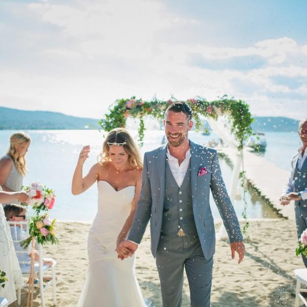 Φωτογράφιση γάμου στο Εkies all senses resort στην Χαλκιδική