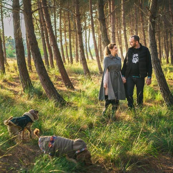 Φωτογράφιση πριν τον γάμο στο Δάσος